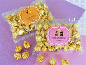 Popcorn As Wedding Favors by Birthday Caramel Popcorn Edible Wedding Favors Wedding