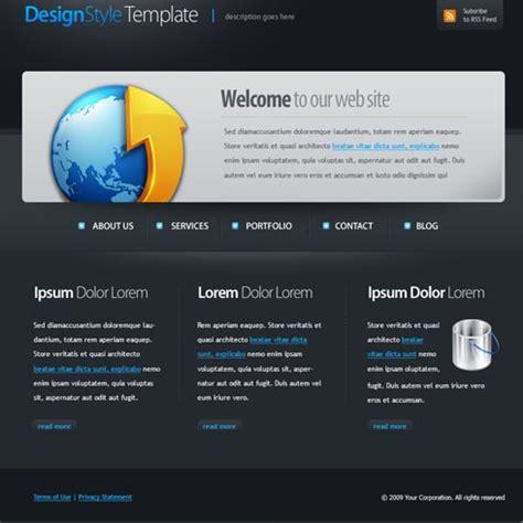 web template 4397 stylishtemplate com