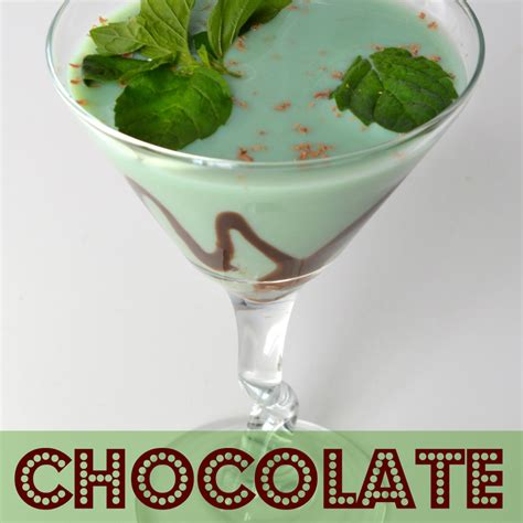 Mint Chocolate Martini Recipe Tales Of A Ranting