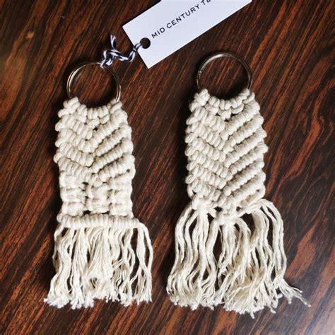 Macrame Chain - macrame keychain diy crafts macrame