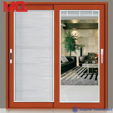 Sliding Patio Doors With Blinds Inside Aluminium Sliding Doors Prices 2