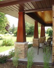 Ranch porch addition craftsman porch milwaukee by one room at
