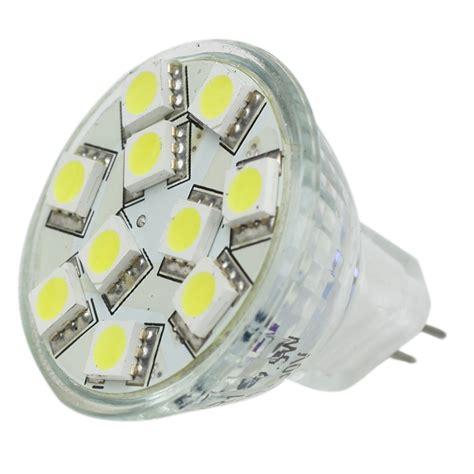 Led Cool White Light Bulbs Lunasea Mr11 10 Led Light Bulb Cool White