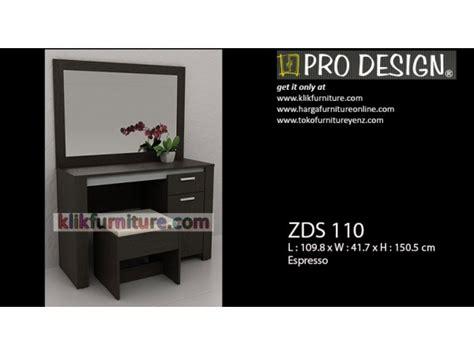 Meja Rias Pro Design harga meja rias prodesign zaphier zds 110 harga promosi