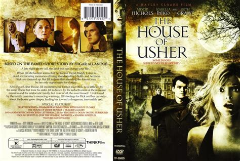 house of usher movie the house of usher movie dvd scanned covers the house