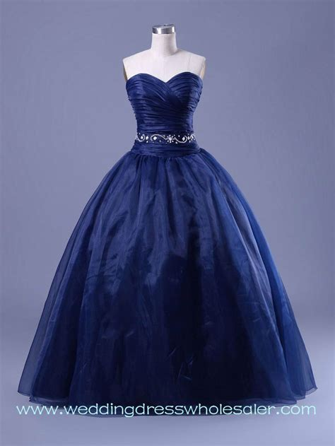 navy blue ball gown prom dress pinterest discover and save creative ideas