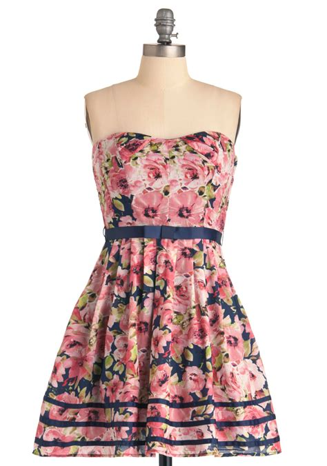 girly to rise dress mod retro vintage dresses modcloth