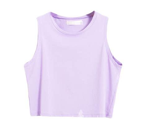 Pastel Purple Crop Top Moth Hime Com Clothes I