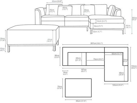 Sofa L Putus Standar best ideas about standards standard dimensions standards and shaped sofas on