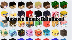 How to get minecraft fnaf heads massive head database easy