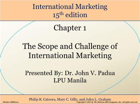 Global Marketing 7ed 1 international marketing chapter 1