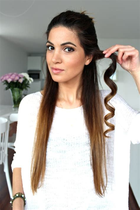 bridesmaid hairstyles useing a curling wand hairstyle favourites soft loose curls wedding hair tutorials