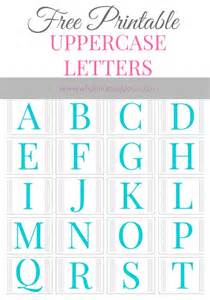 Free Printable Alphabet Templates by Free Printable Alphabet Letters A To Z