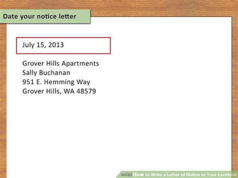 Sending A Certified Letter To Landlord