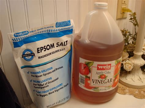 Detox Bath With Vinegar And by 7 Best Images About Exles On