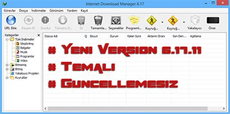 internet download manager 6 17 full build 11 with crack internet download manager 6 17 build 11 tema paketi full