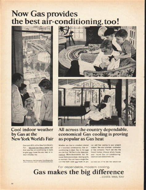 american gas association vintage ad   air