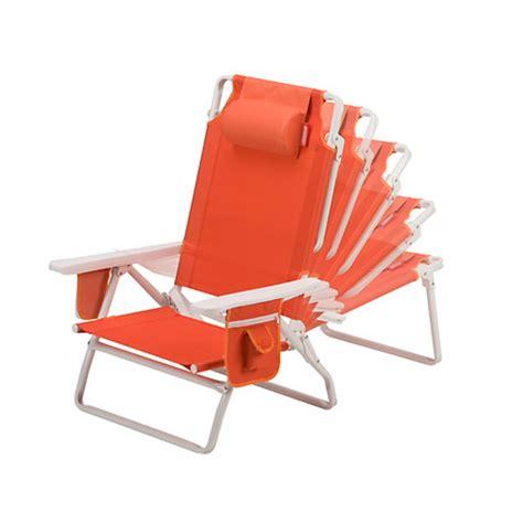 reclining beach chairs portable coleman beach chair recliner orange cing