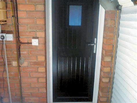 Black Pvc Front Door Black Pvc Front Door Pvc Doors Newcastle Upon Tyne
