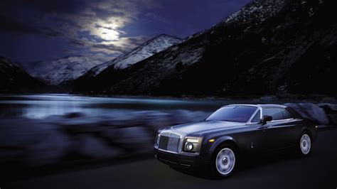 roll royce night rolls royce phantom coupe night 2010 1366 x 768 hdtv wallpaper