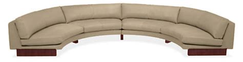 room and board hess sofa hess round leather sectionals sectionals living room