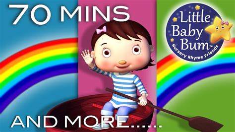 row your boat little baby bum row row row your boat and more nursery rhymes 70