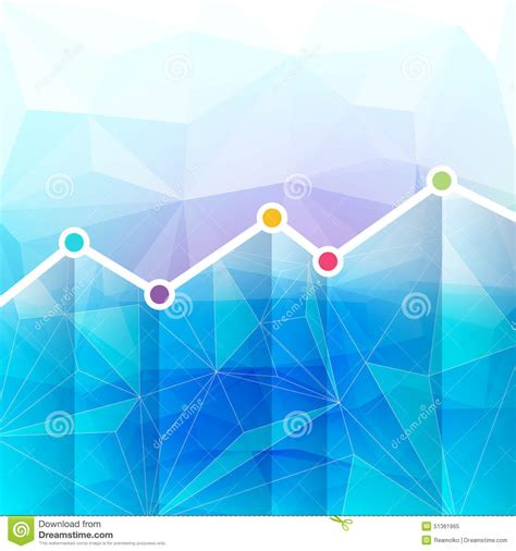 timeline background abstract graph chart timeline background stock vector