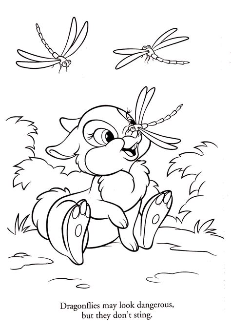 Thumper Coloring Book