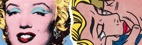 pop andy warhol roy lichtenstein the way of us pop andy warhol vs roy lichtenstein