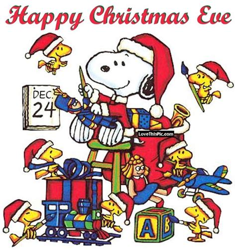 snoopy happy christmas eve quote pictures   images  facebook tumblr pinterest
