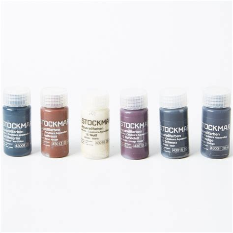 supplementary colors stockmar watercolour paints supplementary colours set