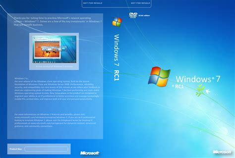 windows 7 rc cover by budterencefe on deviantart