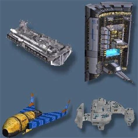 Sci Fi Paper Models