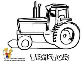 pics photos tractor printable coloring pages kids picture