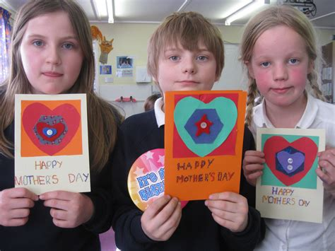 mothers day cards to make in school p5 6 s day cards aberlady primary school