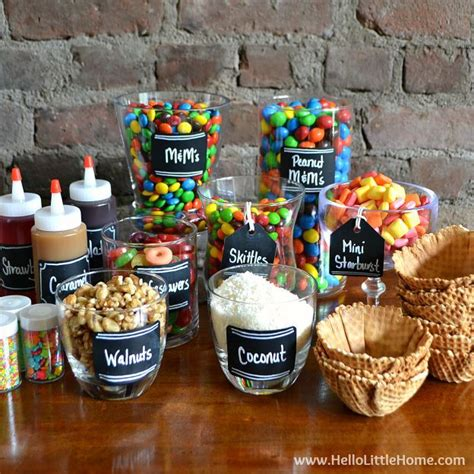 Home Decor Little Rock 17 best ideas about sundae bar on pinterest top party