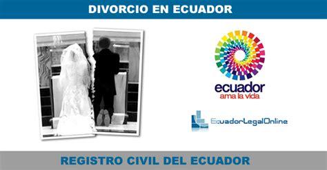 ley de compaias ecuador ecuadorlegalonline tr 225 mite de divorcio en ecuador como proceder