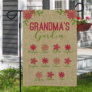 personalized garden flags giftsforyounow