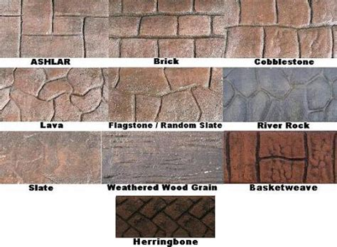 concrete pattern roller hire concrete landscape curbing cobblestone mower edge imprint