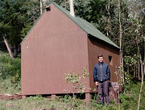 Unabomber Cabin by Unabomber Ted Kaczynski S Cabin Where He Created His Home