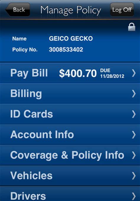 pocketfullofapps | geico app: insurance made mobile