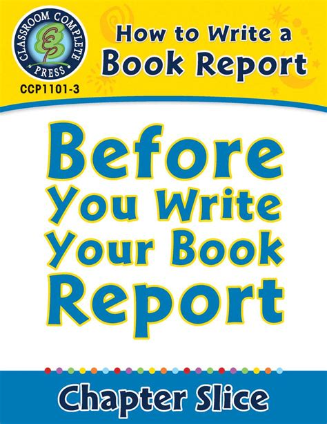how to write a one page book report how to write a book report before you write your book