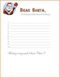 List For Santa Template Kids Christmas List Template Galleryhip Com The