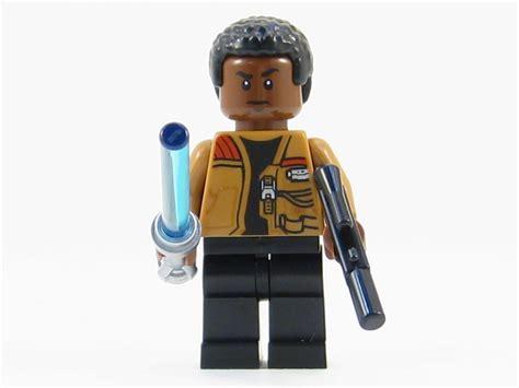 Lego Finn Trooper Starwars lego wars awakens minifigure finn minifig lightsaber blaste play on bricks