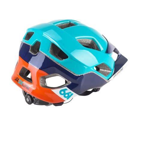 Helm Cross Sixsixone Helm Sixsixone 661 Evo Am Orange Blau Probikeshop