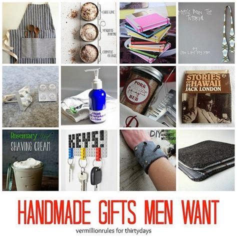 Handmade Mens Gifts - handmade gifts want