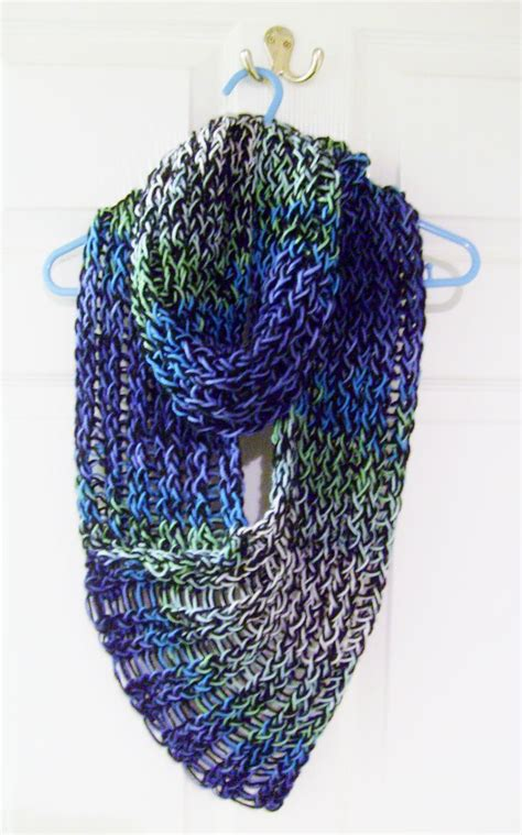 how to loom knit a scarf on loom 17 best ideas about loom knitting scarf on