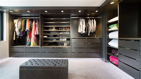 Luxury Wardrobes by This Stegbar Designed Luxury Wardrobe Room Makes Use Of