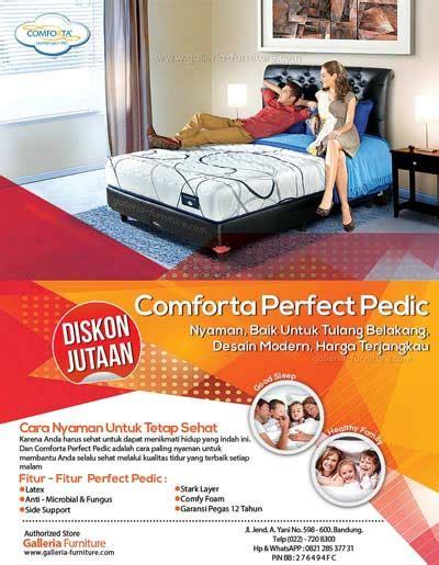 Bed Comforta Di Semarang review fitur diskon comforta bed