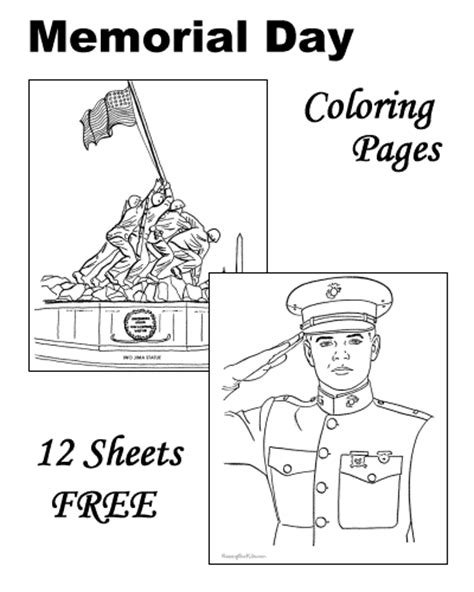 preschool coloring pages for memorial day memorial day patriotic coloring pages for kids